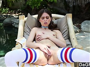 Dagfs jaw-dropping Riley Reid playing With Her