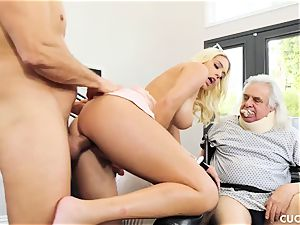 Athena Palomino - My lazy hubby should see how real studs activity