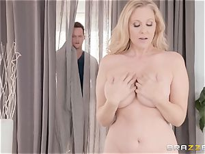Julia Ann gets groped inside and out