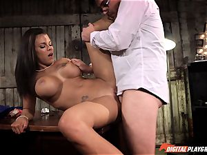Peta Jensen enjoys a supreme pounding