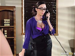 Ariella Ferrera takes a dosage from Danica Dillans boy