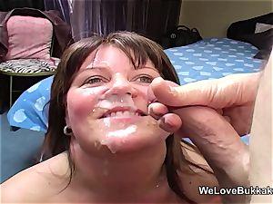 Slow mo inexperienced facial cumshot cum shot compilation