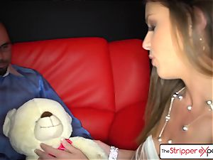 TheStripperExperience- Brooklyn is pulverized by a gigantic hard-on