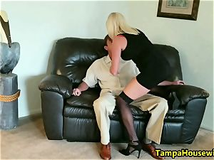 The Incall Series with ultra-kinky blonde