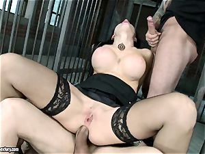 passionate molten Aletta Ocean gets a slot opening up pulverize she always desired and craved