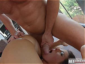 spectacular babes share a internal ejaculation