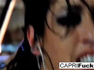 beauty Capri gets screwed stiff by Keni