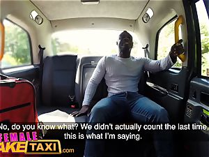 damsel fake taxi ultra-kinky Ava Austen can't resist pecker