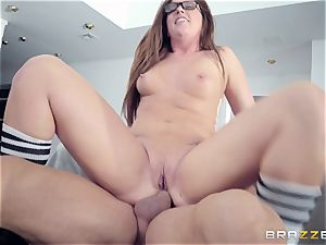 Maddy OReilly banged hard by Johnnys firm man-meat