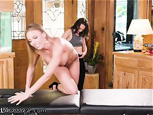 AllGirlMassage Britney Amber ejaculates