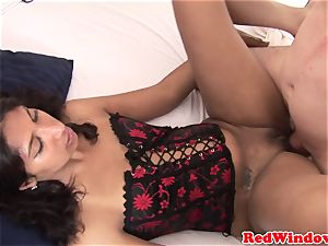 Doggystyled dutch escort pussyfucked by tourist