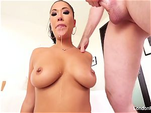 spectacular asian London Keyes knows how to inhale wood