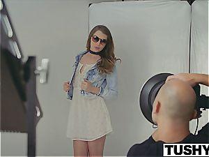 very first anal for model Elena Koshka