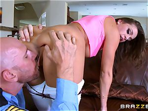 Abigail Mac gets shafted by a super-hot cop in uniform