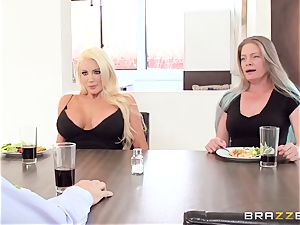 trampy milf tempts her sister's faithful spouse Keiran Lee