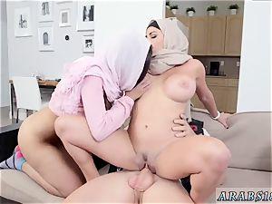 Muslim trunk and arab torrid video Art imitating life.