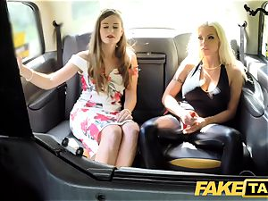 faux taxi instructing the fresh gal taxi driver