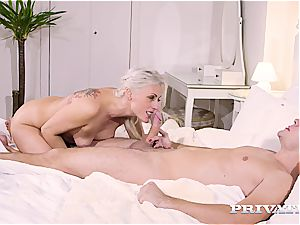 rectal therapy with always insane blonde milf