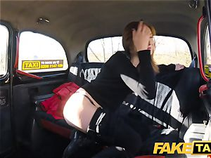 faux taxi Linda edible penetrated by drivers fat wood