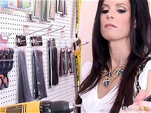 crazy client India Summers torn up by the secretary
