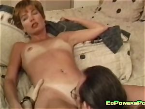 2 ash-blonde bitches boinked by Ed Powers