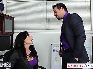 nasty Kendra zeal works her way up the corporate ladder