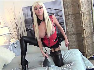 dominatrix Nikita tells you what she wants to do to you