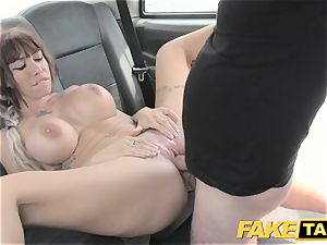 fake taxi Spanish knockers and english giant penis