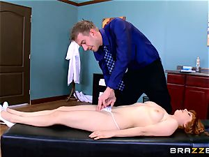 Patient Penny Pax poked by gigantic dicked medic