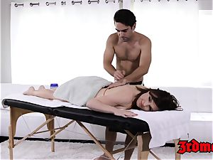 massage luving milf Krissy gets her wet vag jammed