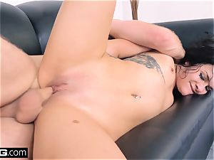 nail audition Eden Sinclair face penetrating muddy oral job