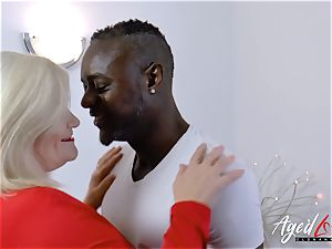 AgedLovE Lacey Starr multiracial gonzo ass-fuck