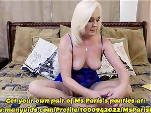 Ms Paris showcases Her Sold ManyVids g-string prep