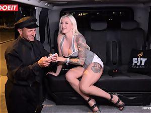 LETSDOEIT - successful cab Driver Bones two scorching Blondes