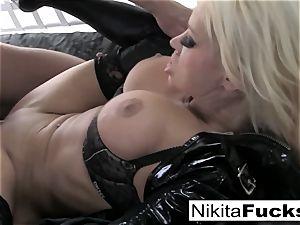 huge-boobed Nikita bangs a humungous hard-on