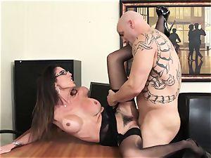 Office cutie Dava Foxx Blows Her manager to Keep Her Job