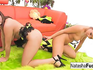 Natasha's 1st ass-fuck with Asa