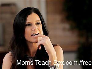teenage duo gets torrid romp tips from mom