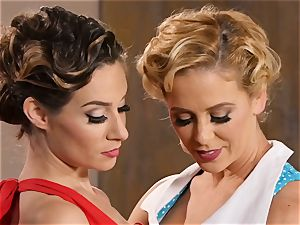 Dancing turns dirty with Cherie Deville and Cassidy Klein