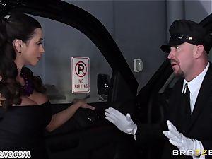 chesty Ariella Ferrera - Drive on my man-meat