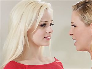 stash and peep Sn 1 3some with Cherie Deville and Elsa Jean