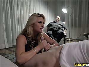 big-titted light-haired Phoenix Marie cheating pummel