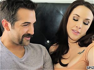Spizoo - watch Chanel Preston throating and banging