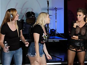 Britney Amber and Hadley Viscara scorching episode orgy