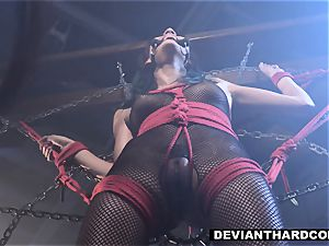 DeviantHardcore - Waterboarding nubile With meatpipe