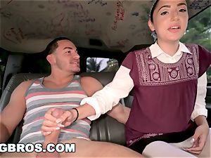 BANGBROS - No Regrets with Becky Sins on The bang Bus!