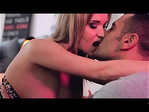 gonzo SHADES - fantastic ash-blonde Czech stunner screws porn addict