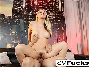 Sarah Vandella gets penetrated rock hard