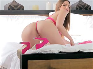 Brooklyn chase taking her time over her pulsating pussy