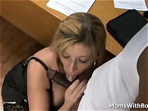 Mature boss Sara Jay interracial fuck-a-thon Applicant